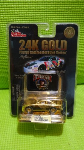 50th Anniversary Nascar #5 Kellogg's 24K Gold Plated 1:64 Die Cast Car