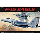 [Academy] Plastic Model Kit 1/100 SCALE F-15 EAGLE (#12706) /item# G4W8B-48Q31195