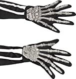 22149 Guantes de esqueleto de smiffy para adultos, un tama�o