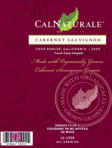2009 Calnaturale Cabernet Sauvignon Paso Robles 1.0 L