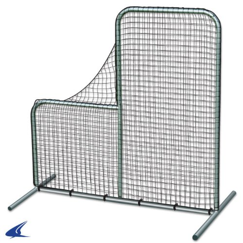 Pitcher's Safety L-Screen - 7'x7