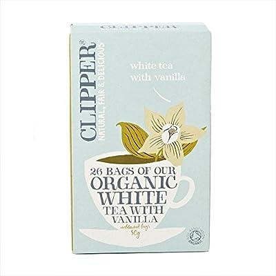 CLIP-4936-V0ParentV3 von Clipper Bio Weißer Tee mit Vanille-Aroma Natural 25 Beutel 50g bei Gewürze Shop