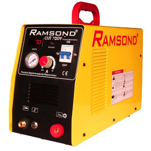 Ramsond CUT 70DY 70 Amp Digital Inverter Portable Air Plasma Cutter Dual Voltage