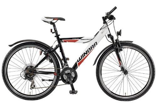 Mod.12 Winora Freak Y MTB - Jugend Mountainbike - Rad 26 Zoll, 21-Gang Bike weiß/schwarz/rot RH 42 UVP: 299,00 Euro