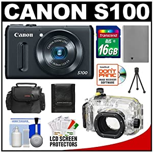 top deals canon powershot s100 12.1 mp digital camera