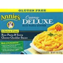 Annie's Homegrown Gluten Free Creamy Deluxe Rice Pasta Dinner, 11-Ounce Boxes (Pack of 6)