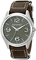 Sperry Top-Sider Men's 10017176 Boat Life Analog Display Japanese Quartz Brown Watch from Sperry Top-Sider Watches MFG Code