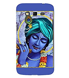 Lord Krishna 3D Hard Polycarbonate Designer Back Case Cover for Samsung Galaxy Grand I9082 :: Samsung Galaxy Grand Z I9082Z