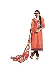 Kalaahari Women's Cotton Unstiched Salwar Suit - B00V9WH16O