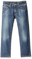 UCB Kids Baby Boys Jeans (16P4CU9573E0I901_Dark Blue_0Y)