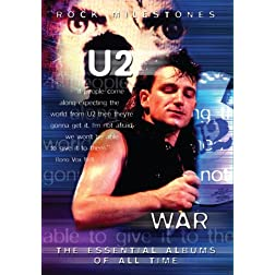 U2 War Rock Milestones