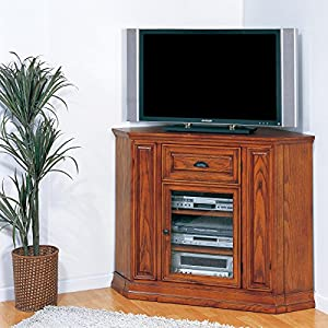 Leick Riley Holliday Boulder Creek Corner TV Stand, 46-Inch Tall
