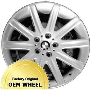 BMW 745,750,760,7 SERIES 19X9 10 SPOKE Factory Oem Wheel Rim- SILVER – Remanufactured