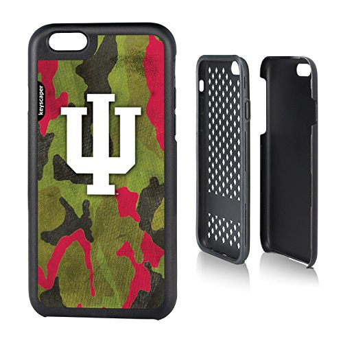 Indiana Hoosiers Iphone 6 Rugged Case Camo Ncaa