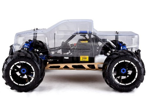 rc car rampage mt rc 1 5 scale nitro gas truck 4wd rtr. Black Bedroom Furniture Sets. Home Design Ideas