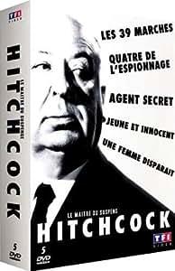 Hitchcock - Le maître du suspense : Les 39 marches + Quatre de l'espionnage + Agent secret + Jeune et innocent + Une femme disparaît