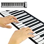 Flexible Roll Up Synthesizer Keyboard...