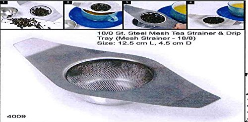 Tea strainer Doubl Handle s/s Guaranteed quality