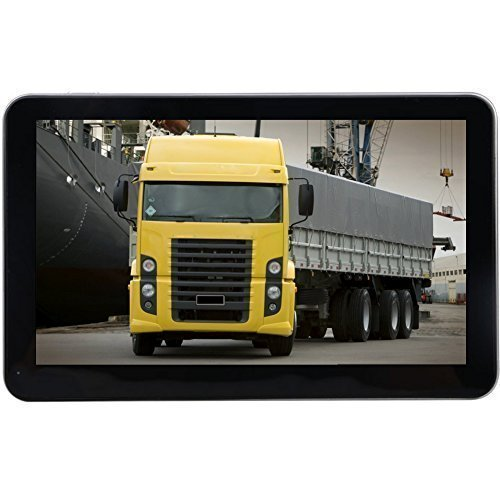 Eleacc 7″ Inch Truck Lorry GPS Navigator Navigation SAT NAV FM POI SpeedCam MP3 MP4 128MB 8GB US Maps