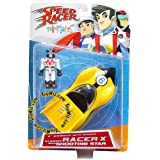 Speed Racer Series 1 Minimates Racer X with Race Car [Toy]