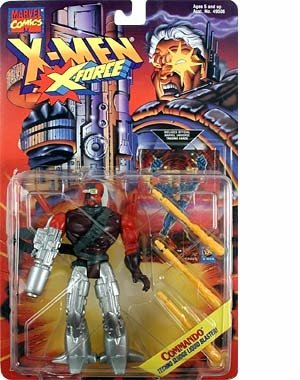 X-Men: X-Force > Commando Action Figure