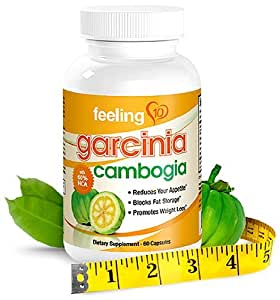 Garcinia Cambogia Extract Pure 60% HCA - Works For Weight Loss And An Appetite Suppressant - 1000 mg Per Serving (High Absorption Formula), 60 Capsules, Full 30 Day Supply