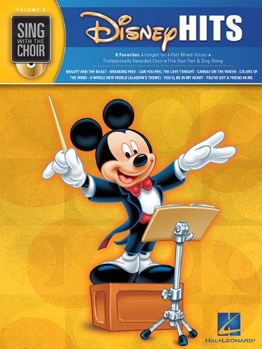 Disney Hits: Sing with the Choir Volume 8