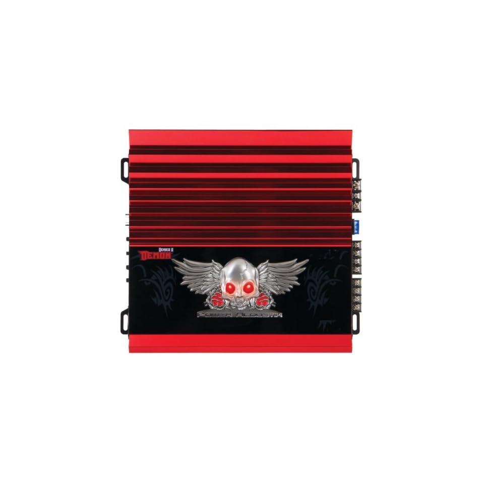 NEW Car Audio System 4 Channel Amplifier Power Acoustik Demon Series w Remote  Vehicle Multi Channel Amplifiers