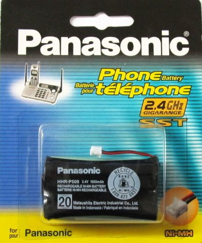 Panasonic Hhr-P509A/1B Replacement Battery For 2.4Ghz Gigarange Telephones
