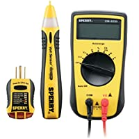 3-Pc. Sperry Professionals Electrical Tester Kit