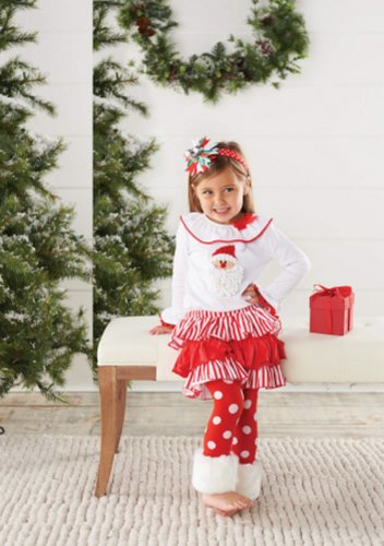Santa Skrit Set With Fur Cuff (5T) front-1010982