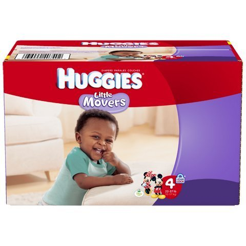 Kimberly C 10513100 Baby Diaper Huggies Ultratrim Size 4 Disposable 10518 Box Of 12 - 1