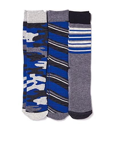 Basic/Outfitters Men's Comfort Crew Sock 3-Pack