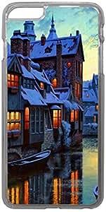 FCS Printed 2D Designer Hard Back Case For Apple iPhone 6 Plus (5.5-Inch) -20409