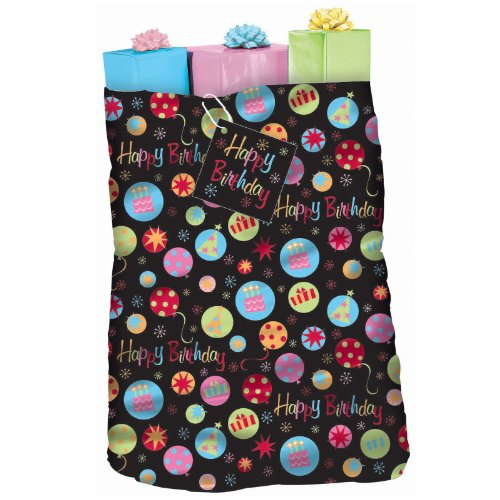 Happy Birthday Giant Gift Sack Party Accessory
