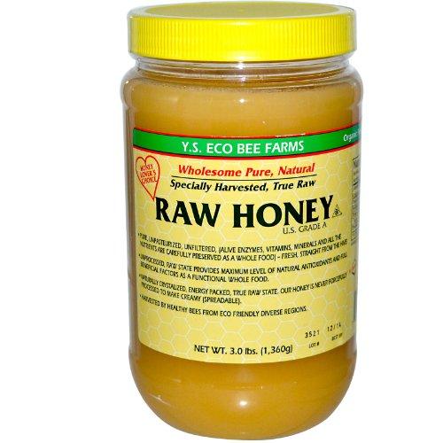 Y.S. Organics RAW Honey 3 lbs