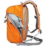 BESTEK CADEN Nylon Backpack Camera Backpack Rucksack Daypack SLR DSLR Digital Camera Bag Outdoor Travel Backpack Gadget Organizer Bag - Waterproof, Multi-Compartments, Carry Handle (Bright Orange)