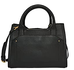 Vince Camuto Kylie Satchel Tote Handbag Purse Bag Handbag Black