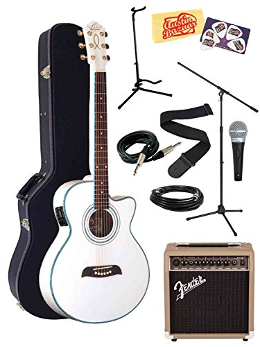 Deluxe Singer Songwriter Package - White