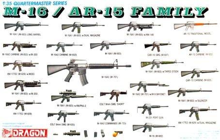 1/35 M-16/AR-15 Family - 1