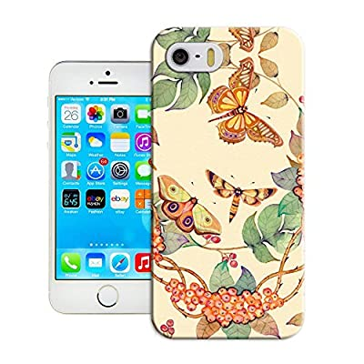 5 Case,iPhone 5S Case -LUOLNH Henna Lotus Floral Elephant Hindu Ganesh Hard Plastic Clear Case Silicone Skin Cover for Apple iphone 5/5S by LUOLNH
