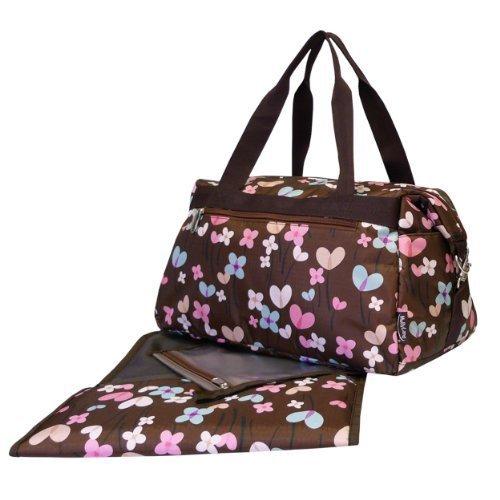 Mabyland Sweet-Pea Overnight Changing Bag Set by MaByLand
