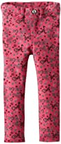 Almost Famous Girls 2-6X Heart Glitter Print, Pink Fresh, 4T