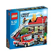 Lego City Fire Emergency Building Sets