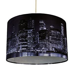 York City Skyline 320mm Diameter Ceiling Light Shade by First Choice Lighting