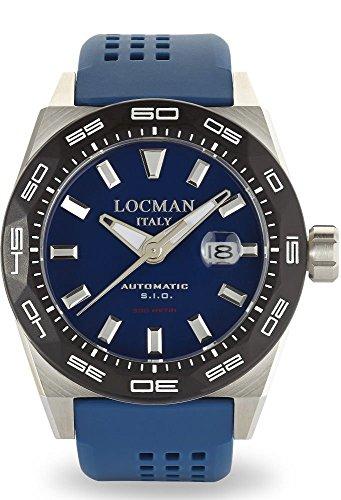 Locman reloj hombre Stealth automática 0215V3-0KBLNKS2B