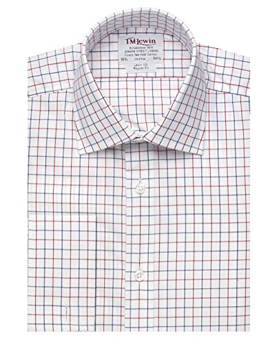 tmlewin-mens-regular-fit-navy-red-check-poplin-shirt-16