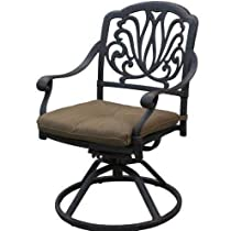 Hot Sale Heritage Outdoor Living Elisabeth Cast Aluminum Swivel Rocker - Set of 6 - Antique Bronze