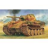 6403 1/35 Panther F w/Gummigedampften Stahllaufrollen