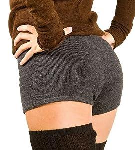 New York Black Small Sexy Low Rise Yoga & Dance Boy Shorts #BoyShorts by KD dance New York Stretch Knit Fashionable #Activewear #MadeInUSA #KDNY